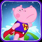 Enfants Superheroes gratuit icon