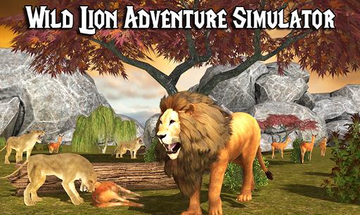 Wild Lion Adventure Simulator