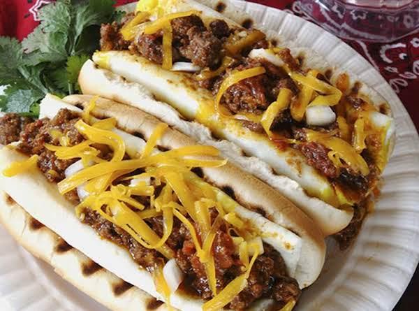 Fireman Bob's Texas Red  Hot  Hot Dog Sauce Recipe