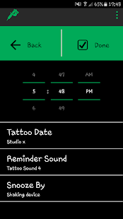 Tattoo Reminder - Free- screenshot thumbnail