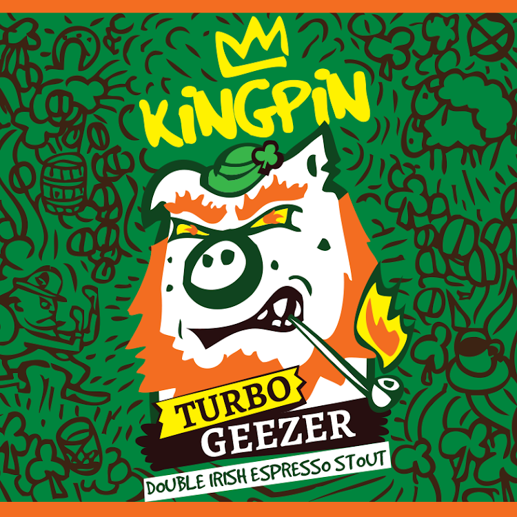 Logo of Kingpin Turbo Geezer