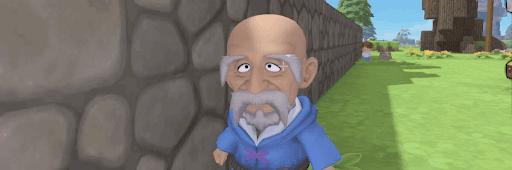 チャポチャポ島の老人