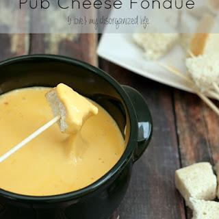Pub Cheese Fondue.