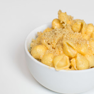 Vegan Quinoa Truffle Mac and Cheese