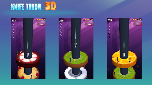 Knife Throw 3D android2mod screenshots 14