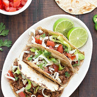 Easy Ground Beef Tacos.