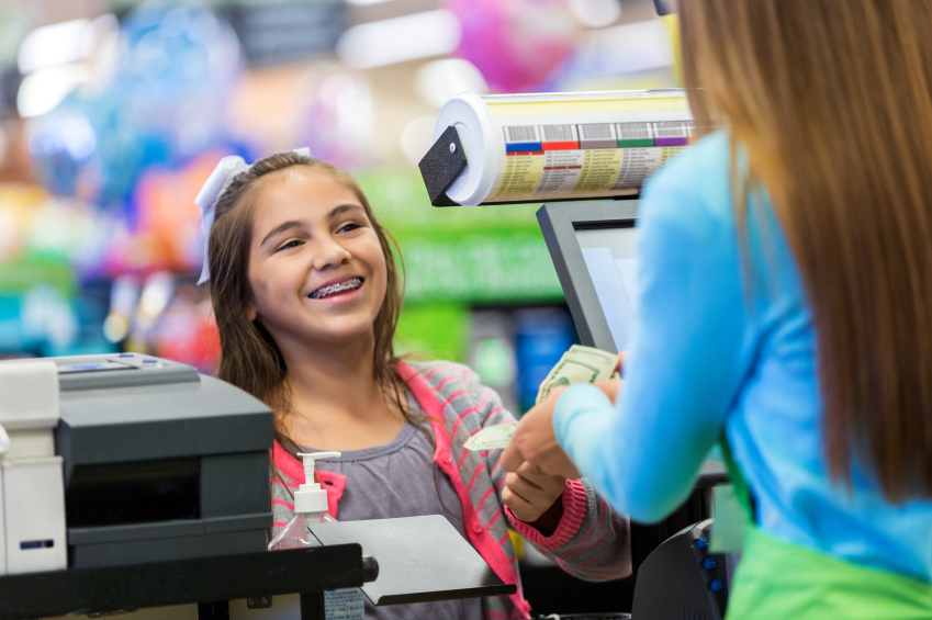 teach kids customer service to run their own business