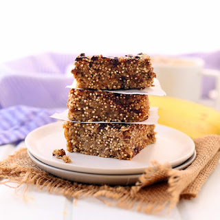 Banana Quinoa Breakfast Bars.