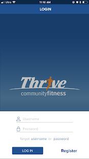 Thrive CF - náhled