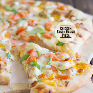 Chicken Bacon Ranch Pizza