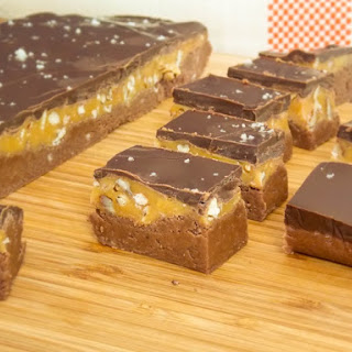 Salted Chocolate Bourbon Praline Fudge Recipe