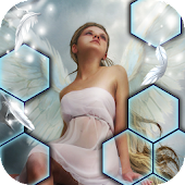 Hidden Scenes Angel Adventure: Picture Tile Swap Android APK Download Free By Hidden Scenes Games By Difference Games LLC