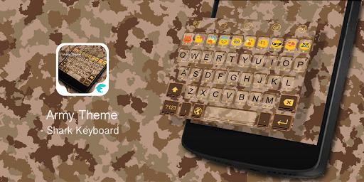Emoji Keyboard-Army