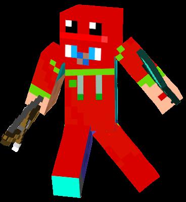 red frog boy