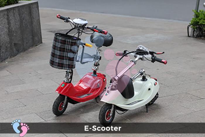 Xe điện E-Scooter mini gấp gọn 10