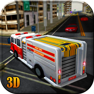 911 Fire Truck Rescue Sim 3D for PC and MAC
