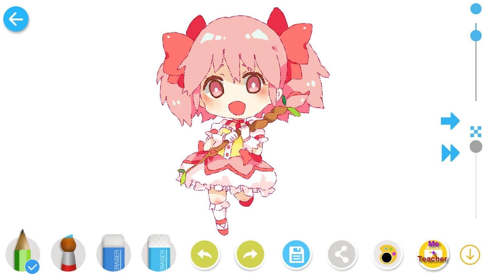Menggambar Anime Manga Apl Android Di Google Play