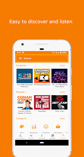 Podcast Republic - Podcasts, Radios and RSS feeds Capture d'écran