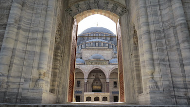 Photo: A little more understated than the Blue Mosque, but really nearly as grand and lovely