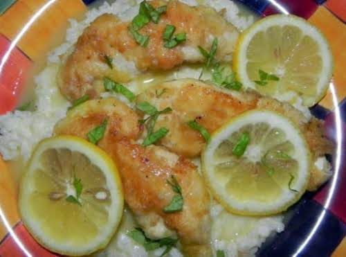 """Chicken Francaise """"This is one of my favorite chicken dishes. Gotta love..."""