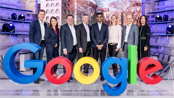 Googles CEO Sundar Pichai  zu Besuch in Berlin