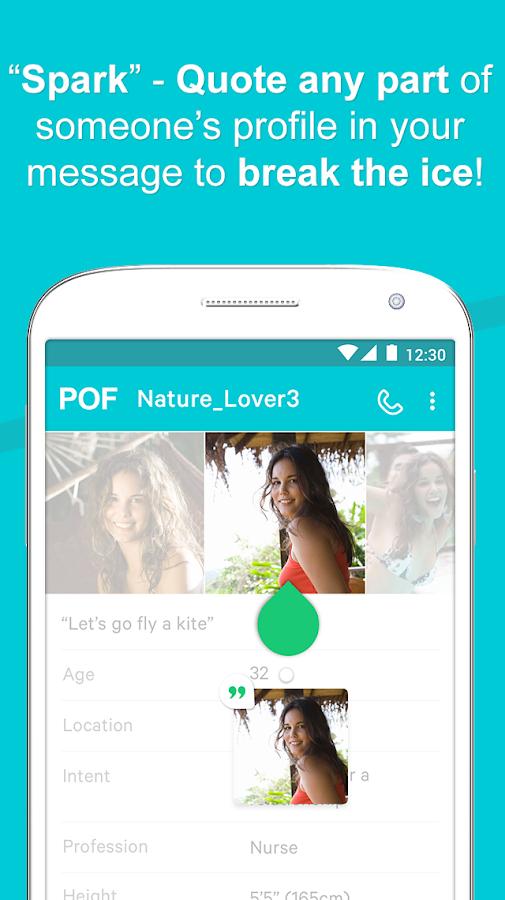 pof dating app free download