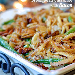 Green Bean Casserole With Bacon And Onion Recipes