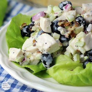 Blueberry Pecan Chicken Salad
