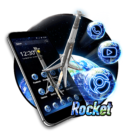 3D Rocket Theme Android APK Download Free By 3dthemecoollauncher