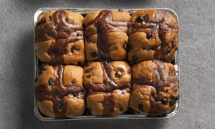 Checkers Chocolate Hot Cross Buns.