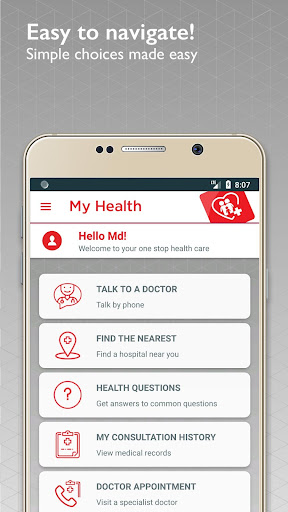 My Health -  Health & Doctor Consultations 10.4 screenshots 1