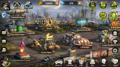 Zombie Strike : Last War of Idle Battle (AFK RPG) screenshot 6