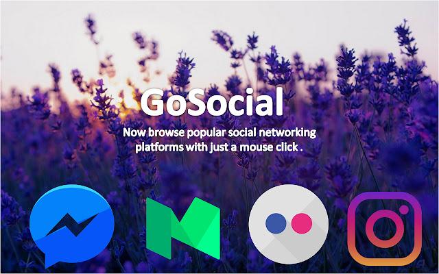 GoSocial: All Social Media