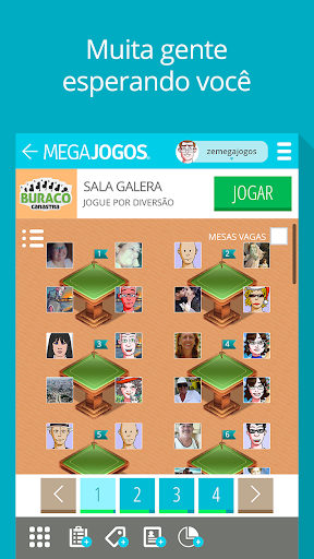 MegaJogos - Online Card Games and Board Games  gameplay | by HackJr.Pw 4