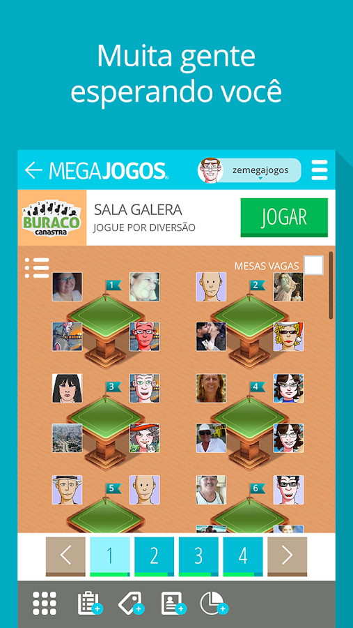 MegaJogos- screenshot