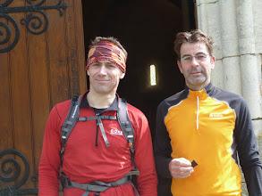 Photo: Rouillac : Fabrice et Stéphane encore ensemble au 3ème ravitaillement