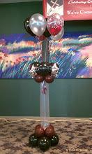Photo: Bouquet on Pedestal