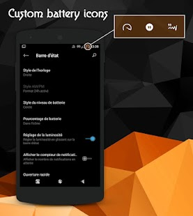 Black Painting - CM13 theme Screenshot