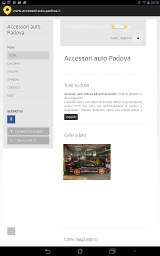 Accessori Auto Padova