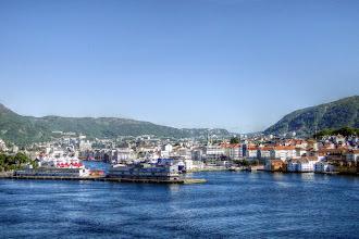 Photo: Bergen Norwegen - Stadtansichten (HDR)