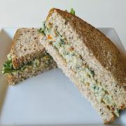 Chickpea Salad Sandwich (GF Available)