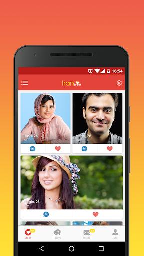 Iran Social: capturas de pantalla de Chat Meet People 1