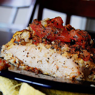 Healthy Baked Bruschetta Chicken Recipe In 45 Minutes!.