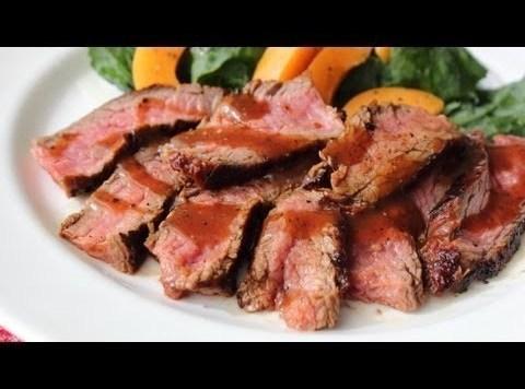 Chili Flank Steak Recipe