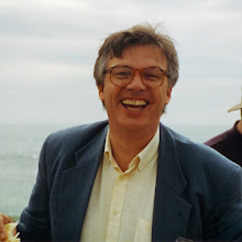 Photo: Yves Bizais at SPIE Medical Imaging beach party, Newport Beach, CA; 1994  KMH