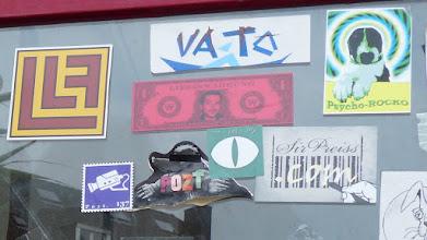 Photo: Stickerparade; Brause; PROZT VATO et al.