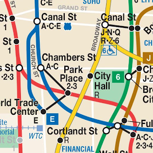 A Train Subway Map