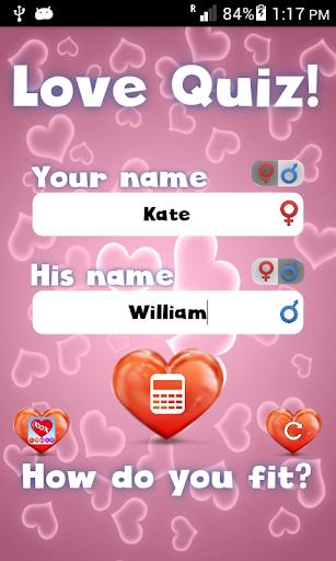 Love Test Quiz