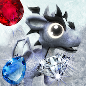 Frozen Dragon Gems - Match 3