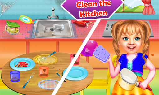 Download Sweet Baby Girl Cleaning Games House Cleanup 2019